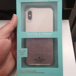 """Case kate spade for iphone x/xs 5.8"""" clear-gray"""